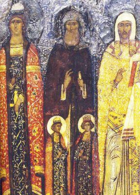 Фёдор Смоленский и Ярославский с чадами Давидом и Константином