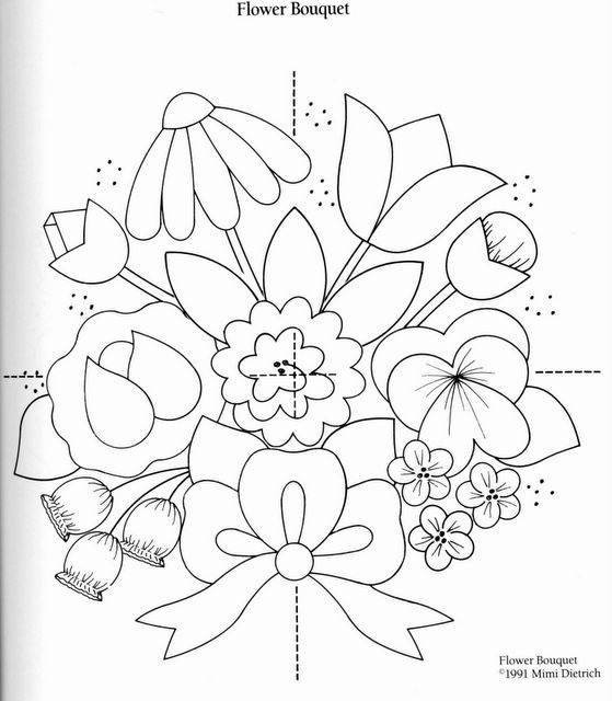 Аппликации, цветы, много и красиво.  И схемы.