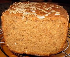 Ржаной хлеб с ламинарией