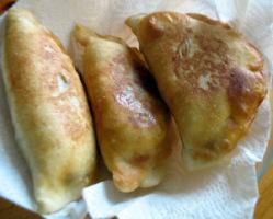 Чебуреки (заварное тесто в хлебопечке)