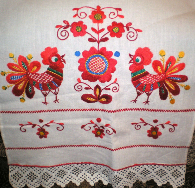 Владимирский шов вышивка 43