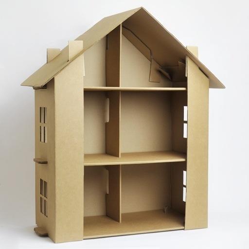 Как сделать кукольный дом из картона своими руками