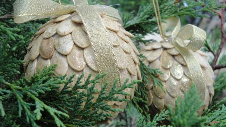 Новогодние поделки своими руками из природных материалов фото