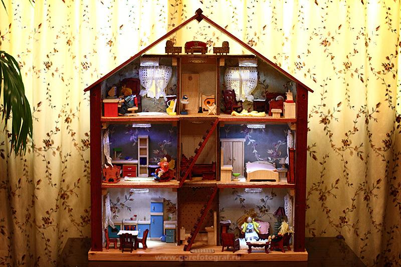 Сделать кукольный домик своими руками из фанеры