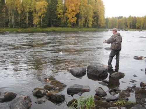рыбалка в карелии на ваме
